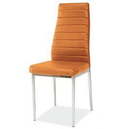 Jídelní židle H-261, oranžová