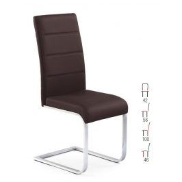 Halmar Židle K85, hnědá