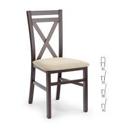 Židle DARIUSZ, ořech tmavý