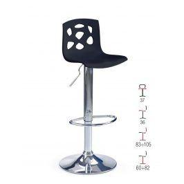 Barová židle ZH-48, černá