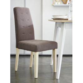 ALVIS, židle, hnědá