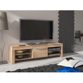 MORAVIA FLAT TV stolek FLEX, dub sonoma