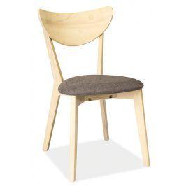 Jídelní čalouněná židle CD-37, šedá