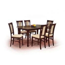 Jídelní stůl rozkládací FRYDERYK 160/200, ořech t.