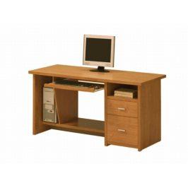 PC stůl se zásuvkami OSCAR, PC1, třešeň