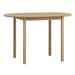 MAGNAT Stůl oválný 115x70 nr.4, masiv borovice, moření: ...