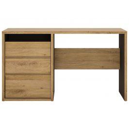 SHETLAND, psací stůl, dub shetland