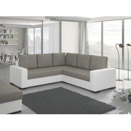 ELTAP Rohová sedačka CANIS 01, šedá/bílá