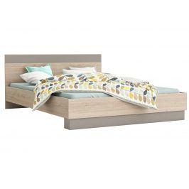 GRAPHIC postel 140x190, dub arizona/jíl postel 140x190, dub arizona/jíl