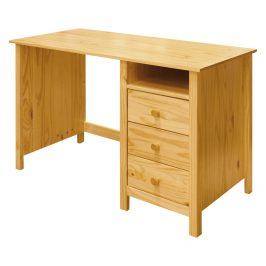 Psací stůl TORINO, masiv borovice Psací stoly