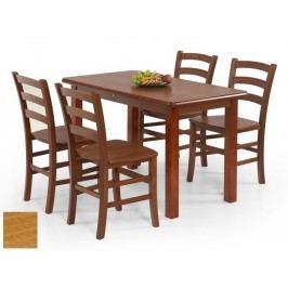 Halmar Jídelní stůl DINNER 115, olše