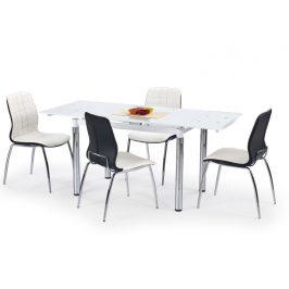 Halmar Jídelní stůl rozkládací L31, bílý
