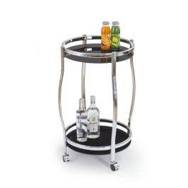 Barový stolek SBAR-8, černá