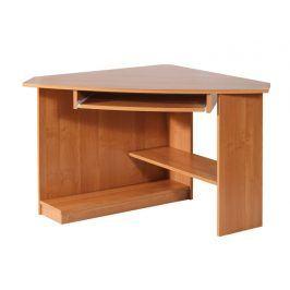 Rohový PC stůl CAREN, pravý, barva:
