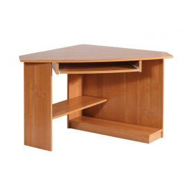 Rohový PC stůl CAREN, levý, barva: