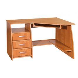 PC stůl se šuplíky SEVILLA 3, levý, barva: Psací stoly