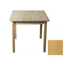 MAGNAT Stůl 80 x 80 cm nr.2, masiv borovice/moření olše
