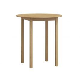 Stůl  průměr 50 cm nr.3, masiv borovice/moření: ...