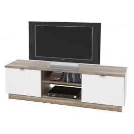 TV stolek, VENETO 03 canyon oak/bílá