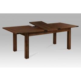 Autronic Jídelní stůl  180+50x95x76cm , barva hnědá, T-12200 WAL