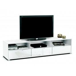 DEMEYERE KLIO, TV stolek, bílá/bílý lesk