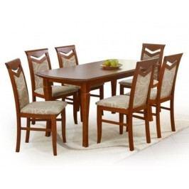 Halmar Jídelní stůl rozkl. FRYDERYK 160/240, třešeň ant. Jídelní stoly