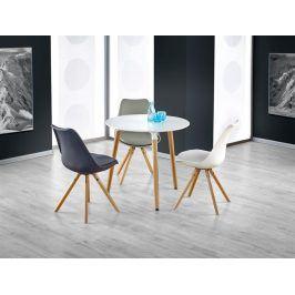 Jídelní stůl kulatý SOCRATES, bílý