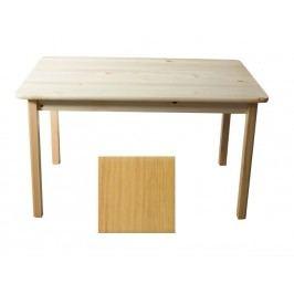 MAGNAT Stůl 130 x 80 cm nr.1, masiv borovice/moření olše