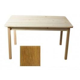 MAGNAT Stůl 130 x 80 cm nr.1, masiv borovice/moření dub