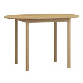 MAGNAT Stůl oválný 150x80 nr.4, masiv borovice, moření: ...