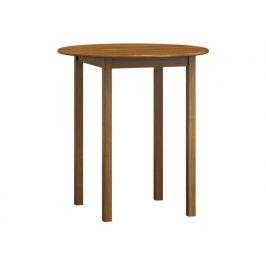 MAGNAT Stůl  průměr 90 cm nr.3, masiv borovice/moření dub