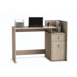 MEGA, psací stůl, dub sonoma, psací stůl, dub sonoma