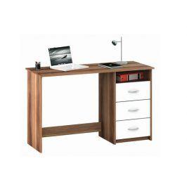 ARISTOTE, psací stůl, merano/bílá