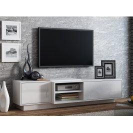 CAMA Televizní stolek RTV SIGMA 1F, bílá
