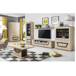 TESS, obývací pokoj, jilm