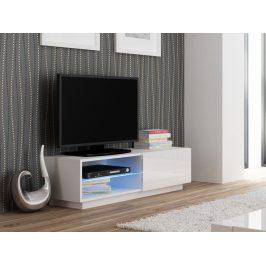 Halmar LIVO RTV-120S televizní stolek stojící, bílá