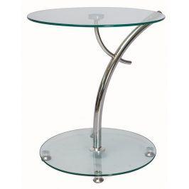 Smartshop Konferenční stolek MUNA, sklo/chrom