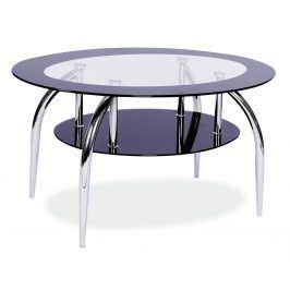 Konferenční stolek LOJA, sklo/chrom