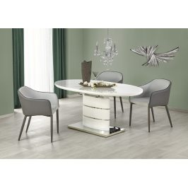 Halmar Jídelní stůl ASPEN 140/180x90 cm, bílý