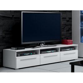 ROMA RTV stolek 150, bílá/bílý lesk Stolky pod TV