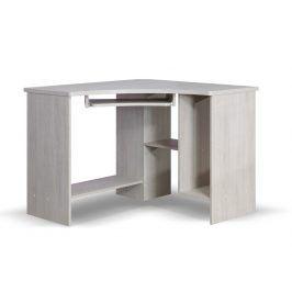 TENUS rohový PC stůl, dub santana