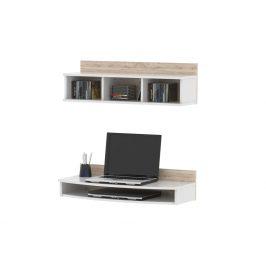 COLUMO stolový blok CO 33, bílá/sanremo Psací stoly