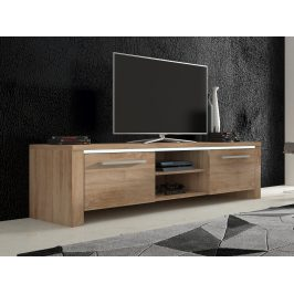 MORAVIA FLAT TV stolek HELIX 2, dub sonoma