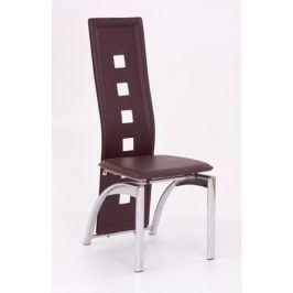 Židle K-4, tmavě hnědá