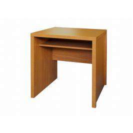 Jednoduchý PC stůl OSCAR T04, třešeň Psací stoly