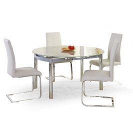 Halmar Jídelní stůl rozkládací NESTOR, kov/sklo