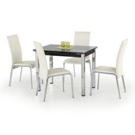 Jídelní stůl rozkládací LOGAN, černý