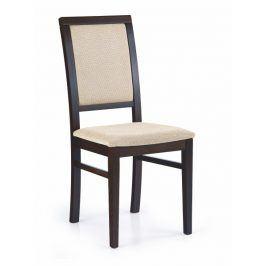 Jídelní židle SYLWEK 1, wenge/látka
