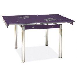 Jídelní rozkládací stůl GD-082, fialový