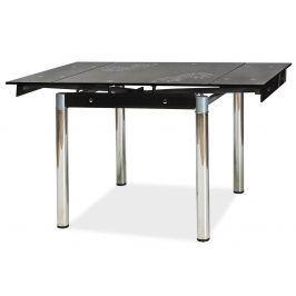 Casarredo, Jídelní rozkládací stůl GD-082, černý